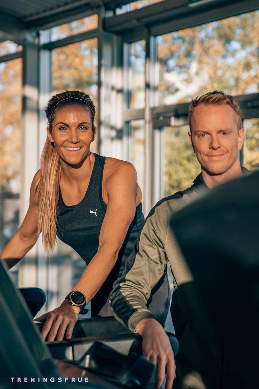 Treningscruise i samarbeid med Treningsfrue Camilla Aastorp Andersen