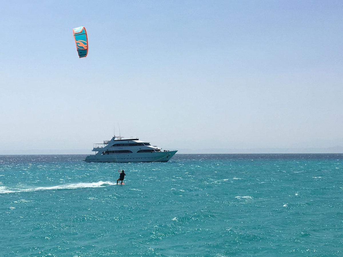 Aktivitetscruise i Rødehavet