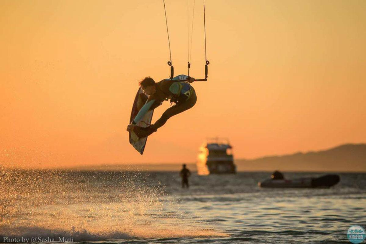 Kiting i Rødehavet